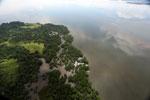 Borneo rainforest river -- sabah_aerial_0058