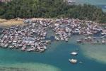 Fishing village off Kota Kinabalu -- sabah_aerial_0100