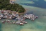 Fishing village off Kota Kinabalu -- sabah_aerial_0101