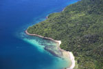 Beaches, coral reefs, and rainforests off Borneo