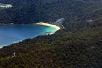 Remote tropical beach in Borneo -- sabah_aerial_0128