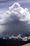 Rainstorm over Borneo