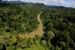 Borneo rainforest river -- sabah_aerial_0179