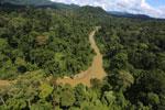 Borneo rainforest river -- sabah_aerial_0180