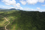 Forest and oil palm plantations in Borneo -- sabah_aerial_0612