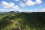 Forest and oil palm plantations in Borneo -- sabah_aerial_0613