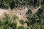 Conventional logging operation in Borneo -- sabah_aerial_0662