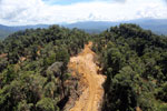 Conventional logging operation in Borneo -- sabah_aerial_0688