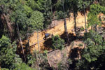 Bulldozer at a conventional logging site in Borneo -- sabah_aerial_0722