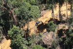 Industrial deforestation in Borneo -- sabah_aerial_0724