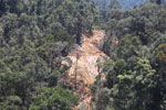 Conventional logging operation in Borneo -- sabah_aerial_0735