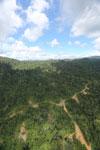 Logging road in Borneo -- sabah_aerial_0781