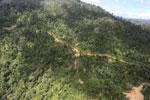 Logging road in Borneo -- sabah_aerial_0790