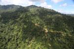 Logging road in Borneo -- sabah_aerial_0791