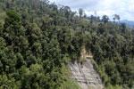 Cliff in Borneo