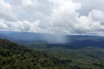 Precipitation over the rainforest -- sabah_aerial_0887