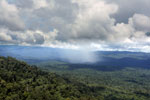 Precipitation over the rainforest -- sabah_aerial_0888