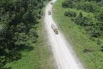 Logging truck in Borneo -- sabah_aerial_0958