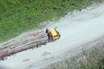 Logging truck in Borneo -- sabah_aerial_0960