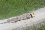 Logging truck in Borneo -- sabah_aerial_0962