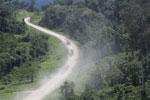 Logging trucks in Borneo -- sabah_aerial_0974