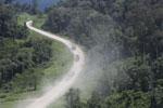 Logging trucks in Borneo -- sabah_aerial_0975