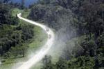 Logging trucks in Borneo -- sabah_aerial_0976