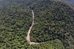 Borneo rainforest river -- sabah_aerial_1145