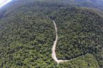 Borneo rainforest river -- sabah_aerial_1147