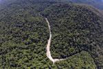 Borneo rainforest river -- sabah_aerial_1148