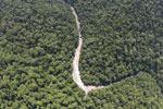 Borneo rainforest river -- sabah_aerial_1149