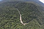 Borneo rainforest river -- sabah_aerial_1151