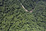 Borneo rainforest river -- sabah_aerial_1153