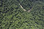 Borneo rainforest river -- sabah_aerial_1154