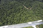 Borneo rainforest river -- sabah_aerial_1155