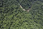 Borneo rainforest river -- sabah_aerial_1156