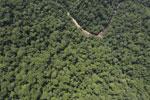 Borneo rainforest river -- sabah_aerial_1157