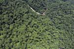 Borneo rainforest river -- sabah_aerial_1161