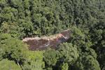 River below Maliau Falls -- sabah_aerial_1360