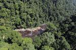 River below Maliau Falls -- sabah_aerial_1361