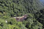 River below Maliau Falls -- sabah_aerial_1363