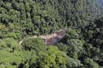 River below Maliau Falls -- sabah_aerial_1364