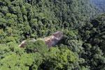 River below Maliau Falls -- sabah_aerial_1365