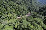 River below Maliau Falls -- sabah_aerial_1366