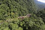 River below Maliau Falls -- sabah_aerial_1367