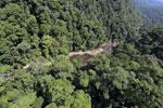 River below Maliau Falls -- sabah_aerial_1368