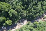 River below Maliau Falls -- sabah_aerial_1427