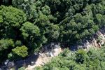 River below Maliau Falls -- sabah_aerial_1428