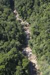 River below Maliau Falls -- sabah_aerial_1429