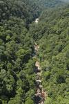 River below Maliau Falls -- sabah_aerial_1432